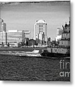 Tug With No Tow Metal Print