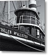 Tugboat Helen Mcallister II Metal Print
