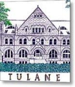 Tulane Metal Print