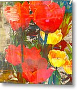 Tulip Abstracts Metal Print