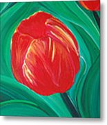 Tulip Diva By Jrr Metal Print by First Star Art