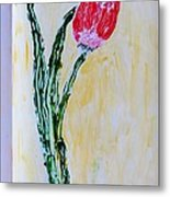 Tulip For You Metal Print
