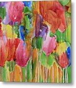 Tulip Palooza Metal Print