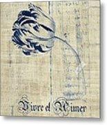 Tulip - Vivre Et Aimer S04t03t Metal Print