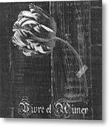 Tulip - Vivre Et Aimer S10t04t Metal Print