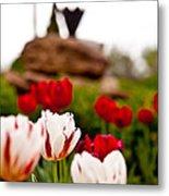 Tulips Ani Tsalagi Metal Print