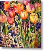 Tulips Metal Print by Ann  Nicholson
