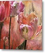 Tulips - Colors Of Love Metal Print