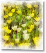 Tulips Everywhere Metal Print