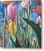 Tulips For You Metal Print by Andrei Attila Mezei
