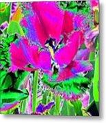 Tulips - Perfect Love - Photopower 2184 Metal Print