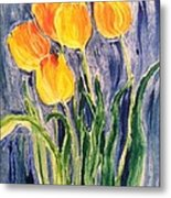 Tulips Metal Print by Sherry Harradence