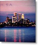 Tulsa Colors Metal Print