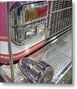Tulsa Fire Department At State Fair P5 Metal Print