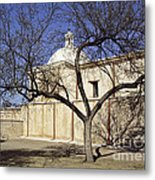 Tumacacori With Tree Metal Print