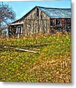 Tumbledown Metal Print by Steve Harrington