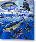 Tuna Rampage Off0018 Metal Print by Carey Chen
