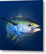 Tuna Wrap Metal Print