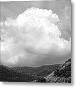 Tunbridge Vermont Storm Cloud Open Edition Metal Print