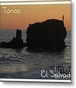 Tunco Card One Metal Print