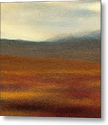 Tundra Autumn Melody Metal Print