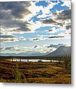 Tundra Burst Metal Print by Chad Dutson