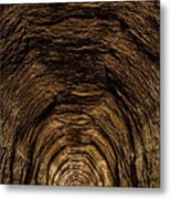 Tunnel 3 On Elroy To Sparta Bike Trail Wisconsin Metal Print
