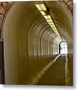 Tunnel To The Berkeley Pit Metal Print