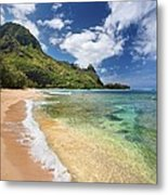 Tunnels Beach Bali Hai Point Metal Print