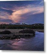 Tuolumne Meadows Sunset Metal Print