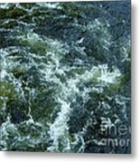 Turbulance At Loch Ness Metal Print