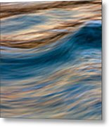 Turbulence Water And Color  73a9760 Metal Print