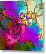 Turbulent Color 2 Metal Print