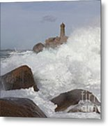 Turbulent Waters Metal Print
