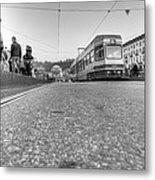 Turin Trolley Metal Print