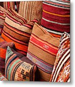 Turkish Cushions 03 Metal Print