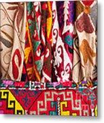 Turkish Textiles 03 Metal Print