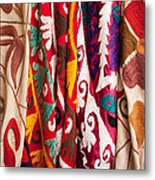 Turkish Textiles 04 Metal Print
