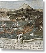 Turkish-venetian Wars. War Of Candia Or Metal Print
