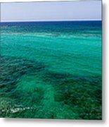 Turks Turquoise Metal Print by Chad Dutson