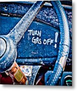 Turn Gas Off Metal Print by Phil 'motography' Clark