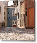 Turn Left At The End Metal Print