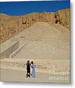 Turn Left At The Next Pile Of Sand Metal Print