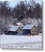 Turn The Page Winter Edition Metal Print