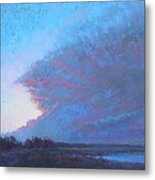Turn To Blue Metal Print
