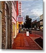 Turnage Theater Grand Opening Metal Print