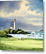 Turnberry Golf Course Scotland 10th Green Metal Print
