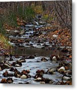 Turner Falls Stream Metal Print