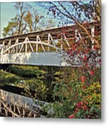 Turner's Covered Bridge Metal Print