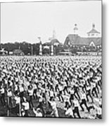 Turnfest Gymnastic Festival Hamburg Germany 1903 Metal Print